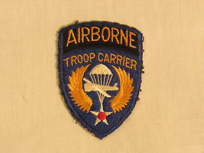 WWII US Army Air Corp Airborne Troop Carrier SSI