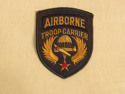 WWII US Army Air Corp Airborne Troop Carrier SSI – Reunion?