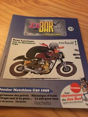 Joe Bar Team n° 32  collection moto revue magazine 50's 80's les motos cultes