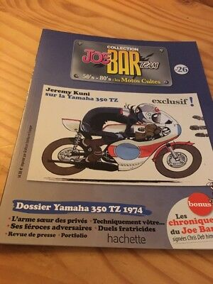 Joe Bar Team n° 26  collection moto revue magazine 50's 80's les motos cultes
