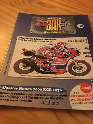Joe Bar Team n° 38 collection moto revue magazine 50's 80's les motos cultes