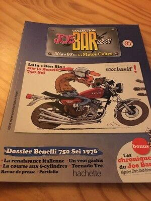 Joe Bar Team n° 37  collection moto revue magazine 50's 80's les motos cultes