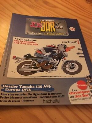 Joe Bar Team n° 33  collection moto revue magazine 50's 80's les motos cultes