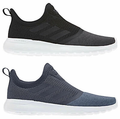 newest 4d040 bb09b ... new style new adidas neo womens ladies cloudfoam lite racer slip  running shoes black navy add10