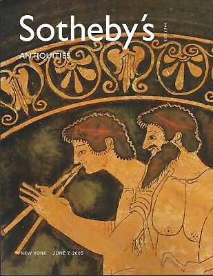 SOTHEBY'S ANTIQUITIES Egyptian Roman Greek Etruscan Asiatic Catalog 2005