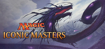 Magic the Gathering Common Iconic Masters Cards - Complete Play sets (4x)