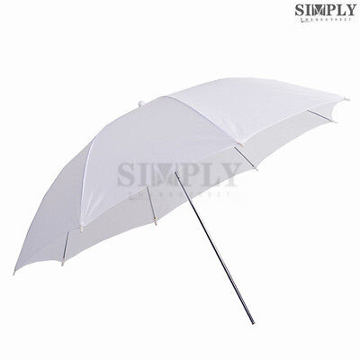 "33"" Translucent White Soft Umbrella Reflective Photo Studio Video Flash Light 2x"