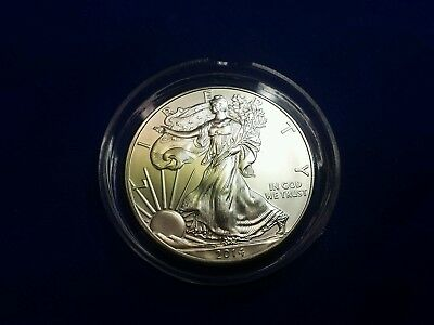 2014 US Silver Eagle coin # 0012