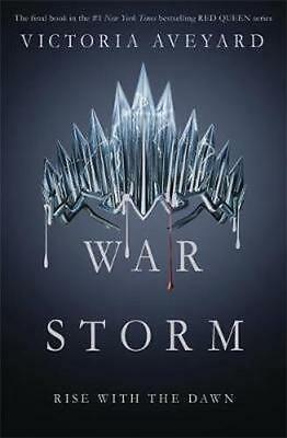 NEW War Storm By Victoria Aveyard Paperback Free Shipping