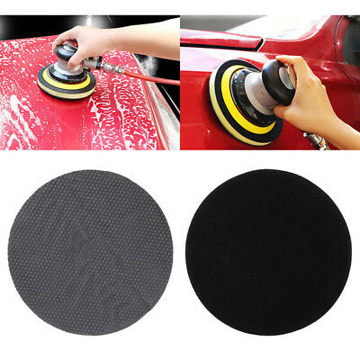 6 inch Gray Yellow Pneumatic Clay Polishing Sponge Cleaning Buffing Pads for Car