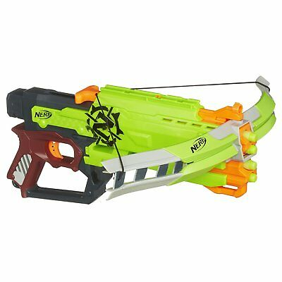 NEW Nerf Zombie Strike Crossfire Bow Blaster