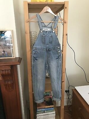 Denim Overalls Unisex Size 8 Breakers Label Only Worn Once Boy Girl
