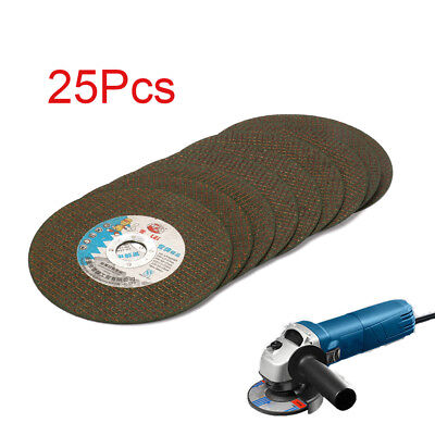 25Pcs 6 Inch Resin Cutting Wheel Grinding Disc Blade For Angle Grinder 22MM Bore