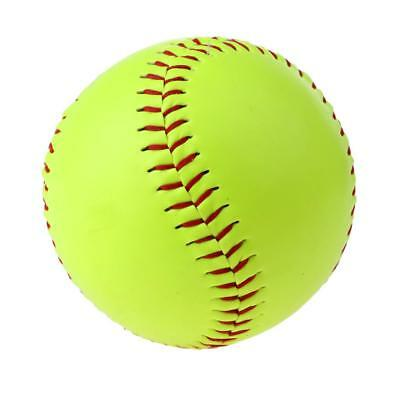 Sporting Goods - Fast Pitch Softballs, Leather Cover, Cork Core ( Yellow)