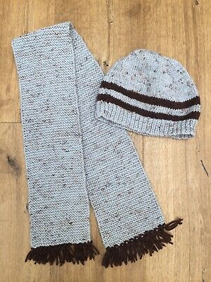 Scarf and Beanie - Handknit - Toddler/Preschooler - Made with Love!