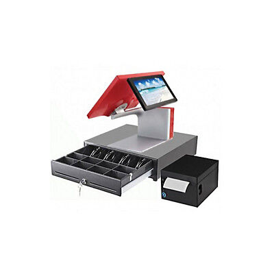 "POS System 15"" Touchscreen Restaurant Pro SANGO Aures Point of Sale Register NEW"