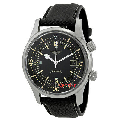 Longines Heritage Automatic Black Dial Men's Watch L3.674.4.50.0