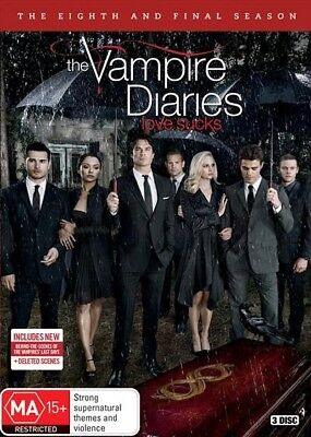 Vampire Diaries - Season 8, DVD