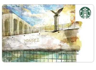 Starbucks Korea 2018 YONSEI University Card