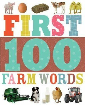 First 100 Farm Words (Learning Range) by Make Believe Ideas Book The Cheap Fast