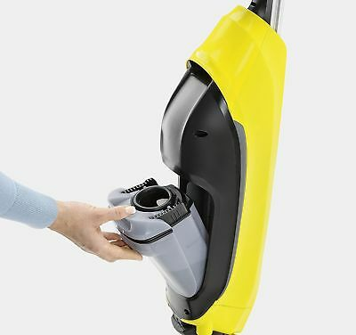 Karcher FC5 Hard Floor Cleaner - Yellow. Sweeper and Mop in One 5.0 average base