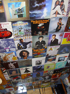 93 LP Sammlung ROCK POP DISCO SOUL REAGGAE NDW TURNER ELTON US BONDS SKY  lesen!