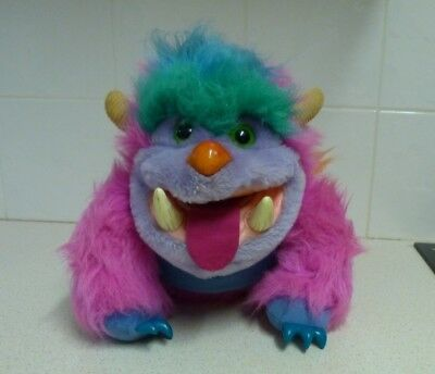 Very Rare My Monster Pet Plush Toy -Amtoy 1986 -Those Characters From Cleveland