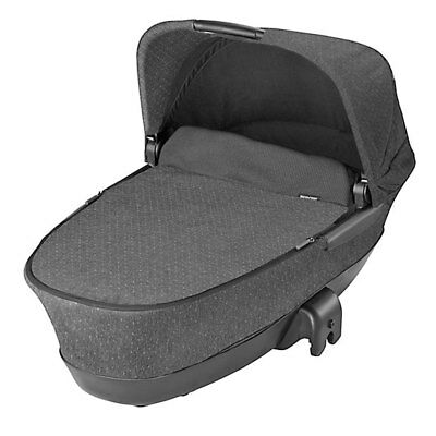 Brand New Maxi Cosi Foldable Carrycot in Sparkling Grey 2016 RRP£165