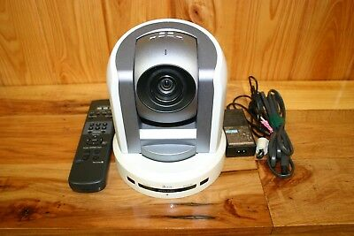 Sony BRC-300 Widescreen PTZ Camera with Remote Control and Power Supply