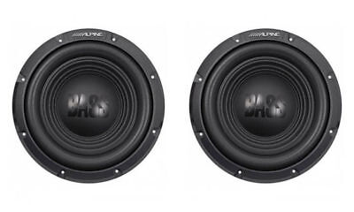 "(2) ALPINE 750W 10"" BassLine Series Single 4 ohm Car Subwoofers (Pair) 