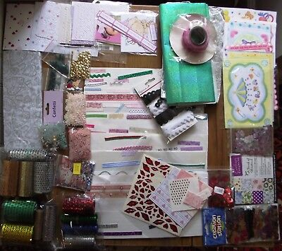A Large Job Lot Of Various Card Making Items