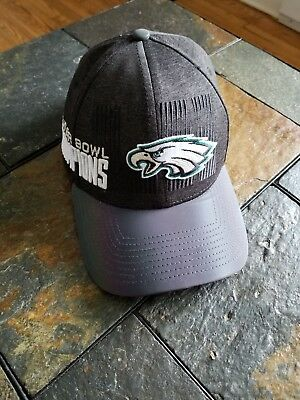 781c466d7 Philadelphia Eagles 2017 Locker Room SBLII Super Bowl 52 Champions Hat   Cap