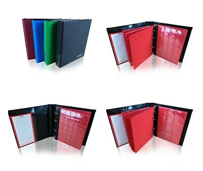 Coin Album Collection Holder Folder Binder 50p £1 £2 Storage Book 200 Hellas