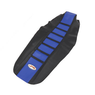 Blue Gripper Ribbed Soft Seat Cover For HUSQVARNA FC TC 16-17 Off road Rubber