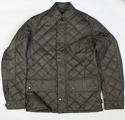 BRAND NEW - Barbour International Matlock Quilted Black Jacket-S-MSRP $329