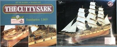 THE 'CUTTY SARK'  CLIPPER SHIP - WOODEN  SHIP MODEL by CONSTRUCTO