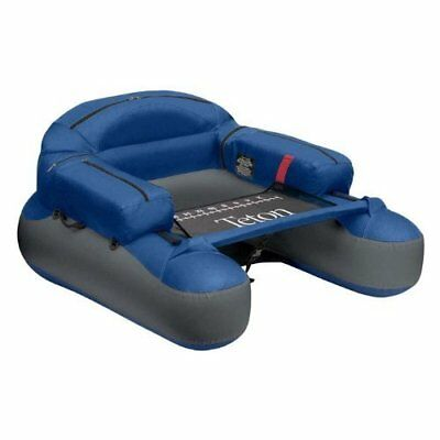 Teton Fishing Float Tube Inflatable Boat Pontoon Hydrodynamic Hull Shape Outdoor
