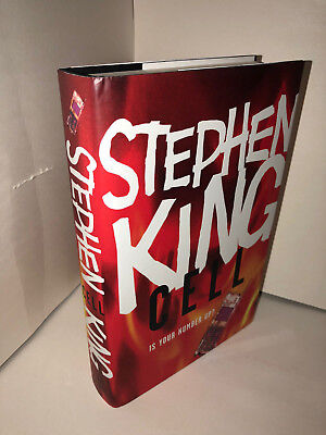 CELL - Stephen King - (Inglese, Copertina Rigida)