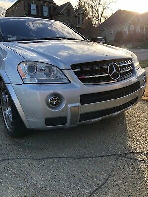 2008 Mercedes-Benz M-Class ML63 2008 Mercedes Benz AMG ML63 SILVER MINT CONDITION, LOW MILES, GARAGE KEPT,NEW TI