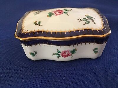 BEAUTIFUL RICHARD GINORI PITTORIA Covered TRINKET BOX Porcelain Made ...
