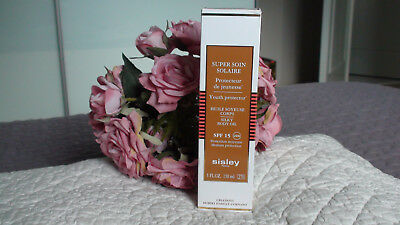 Super Soin Solaire  ** Sisley ** Huile Soyeuse Corps  Spf 15  Neuf