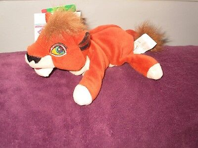 Disney Store The Lion King Simba's Pride KOVU soft beanie toy mini bean bag 8""