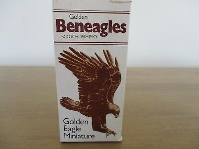 Beswick Golden Eagle Miniature Whisky Decanter