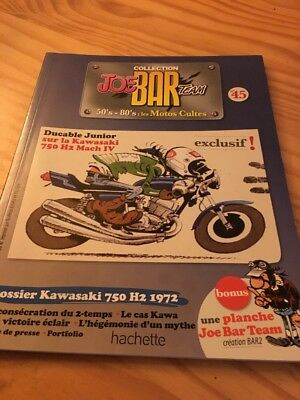 Joe Bar Team n° 45 collection moto revue magazine 50's 80's les motos cultes