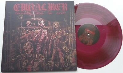 NB40EmbalmerEmanations from the Crypt RED/BROWN MARBLED VINYL in FOC *UNPLAYED