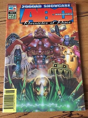 2000Ad Showcase #14 Abc Warriors Khronicles Of Khaos Fleetway Quality Comics