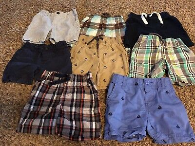 Toddler Boy Shorts Lot 2T *Carters, Old Navy*