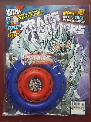 Transformers UK Titan Comic #16 - Sept 2010 Includes Free Gift