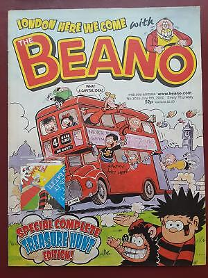 The Beano Comic No.3025 Sept 2000 - Includes Free Gift  #B1999