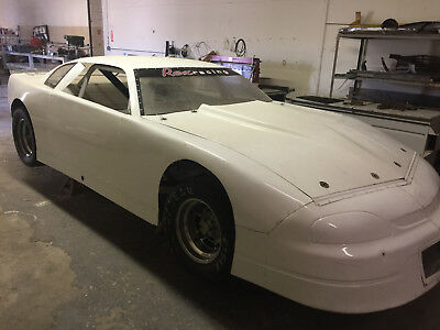 race car/ late model with parts and trailer